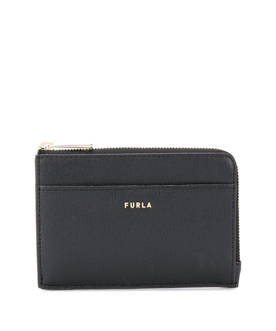 Image for FURLA WOMEN'S 1056876 BLACK LEATHER WALLET