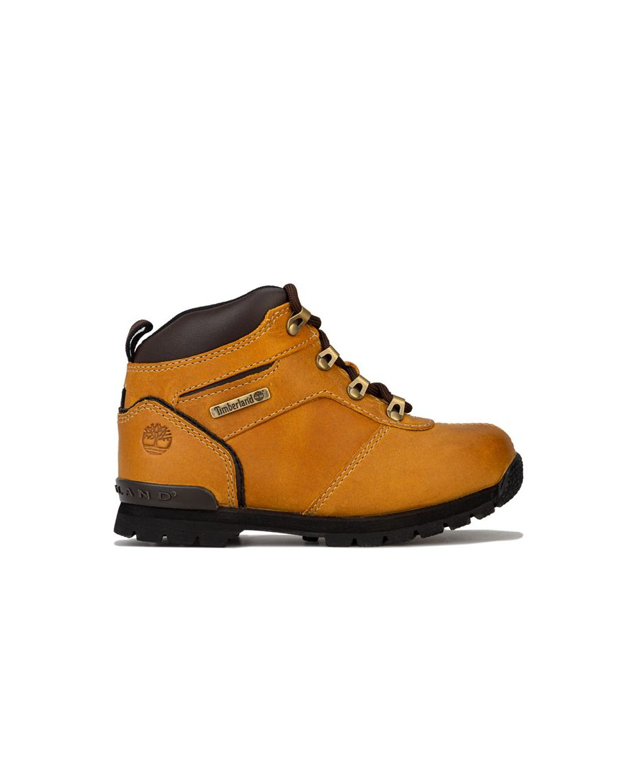 Image for Boy's Timberland Children Splitrock 2 Boots in Wheat
