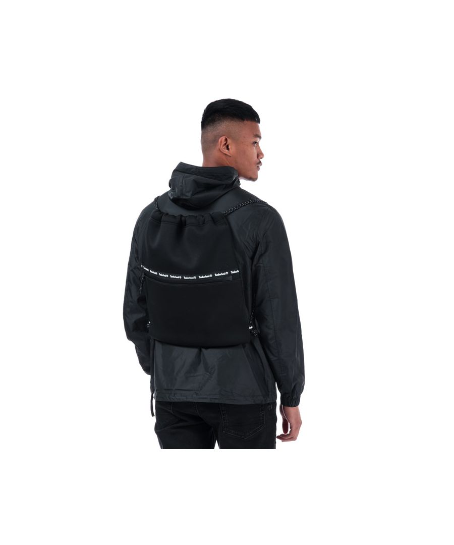 Image for Accessories Timberland Hero Cinch Gym Sack in Black