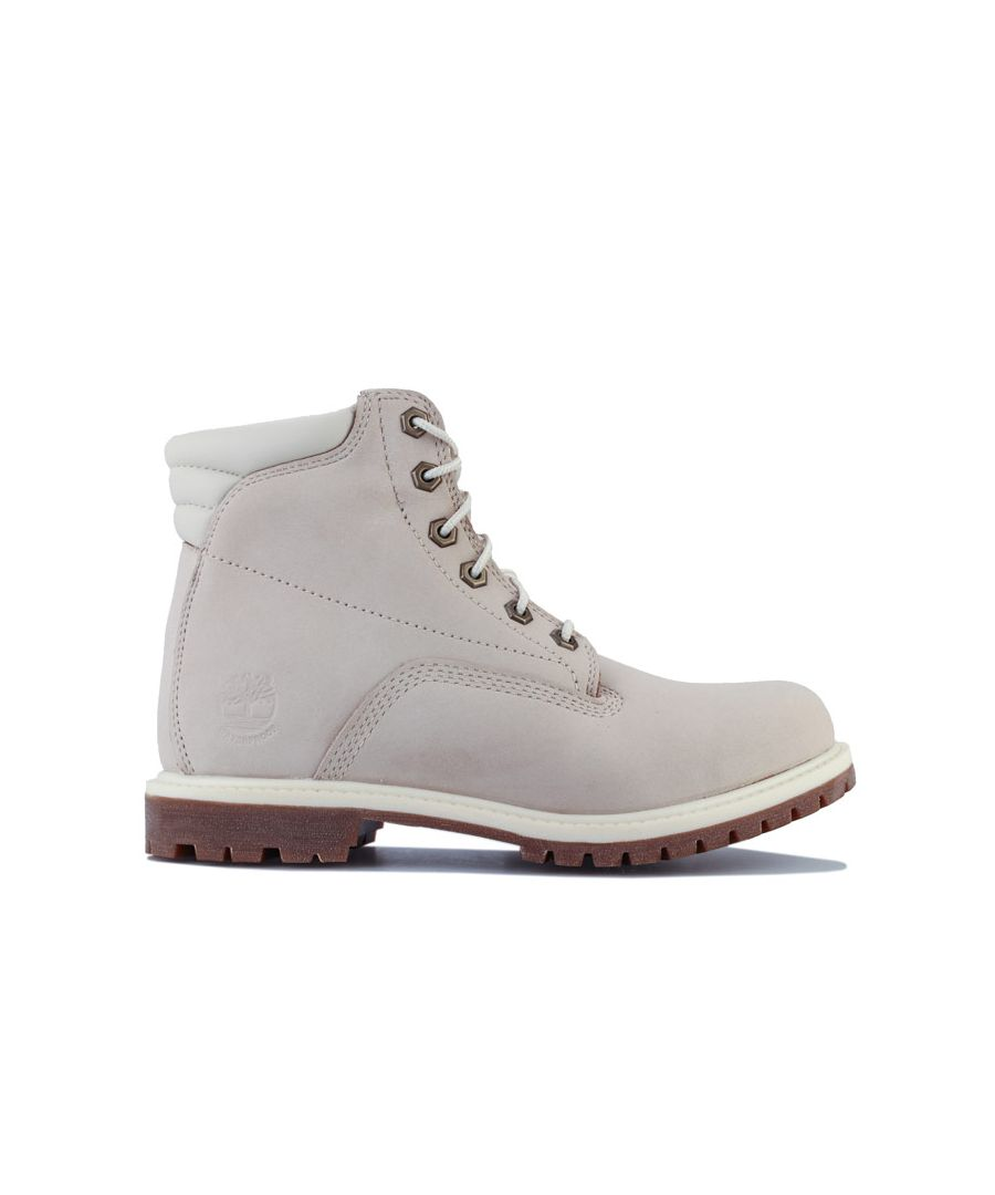 Image for Women's Timberland Waterville 6in Basic WP Boots Natural UK 3in Natural