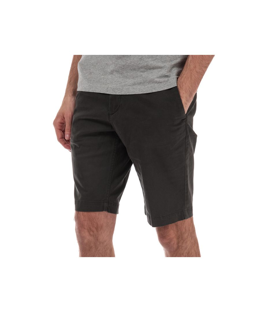 Image for Men's Timberland Squam Lake Stretch Twill Chino Shorts in Brown