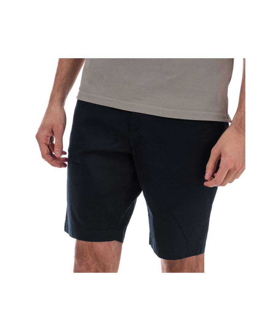Image for Men's Timberland Squam Lake SLW Stretch Chino Shorts in Navy