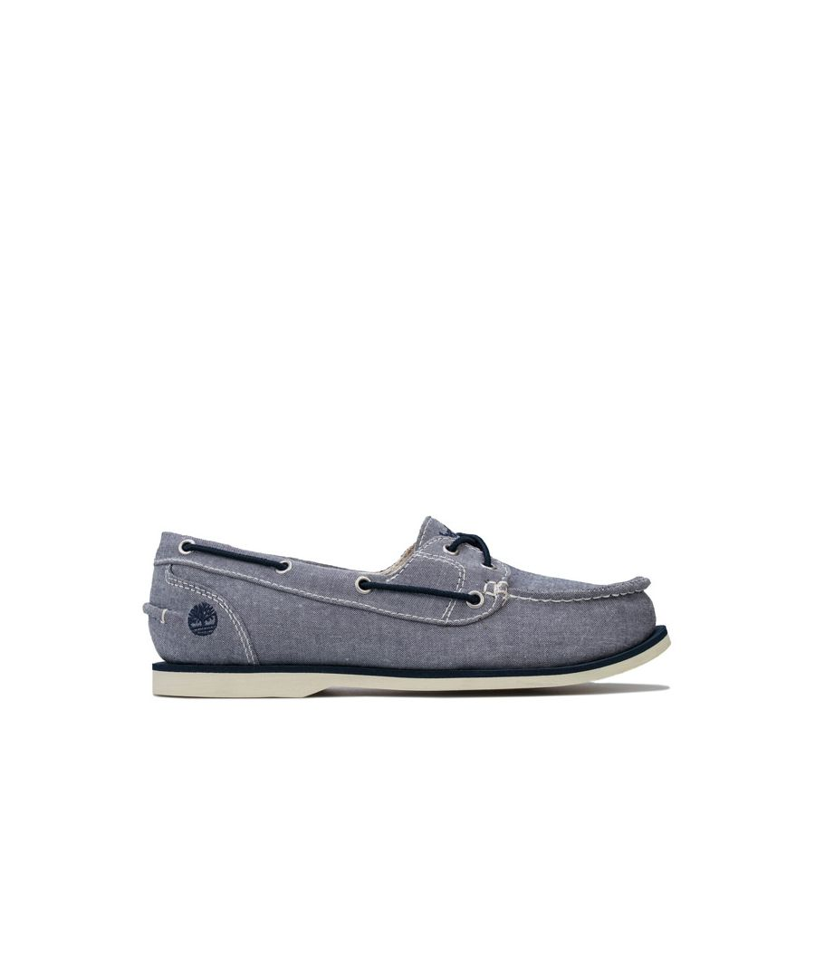 Image for Women's Timberland Classic Canvas Boat Shoes in Navy