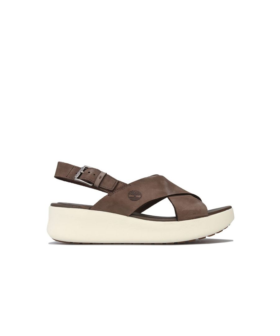 Image for Women's Timberland Los Angeles Wind Slingback Sandals in olive