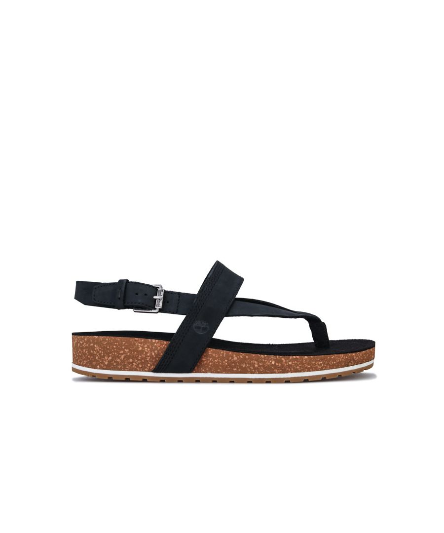 Image for Women's Timberland Malibu Waves Thong Sandals in Black