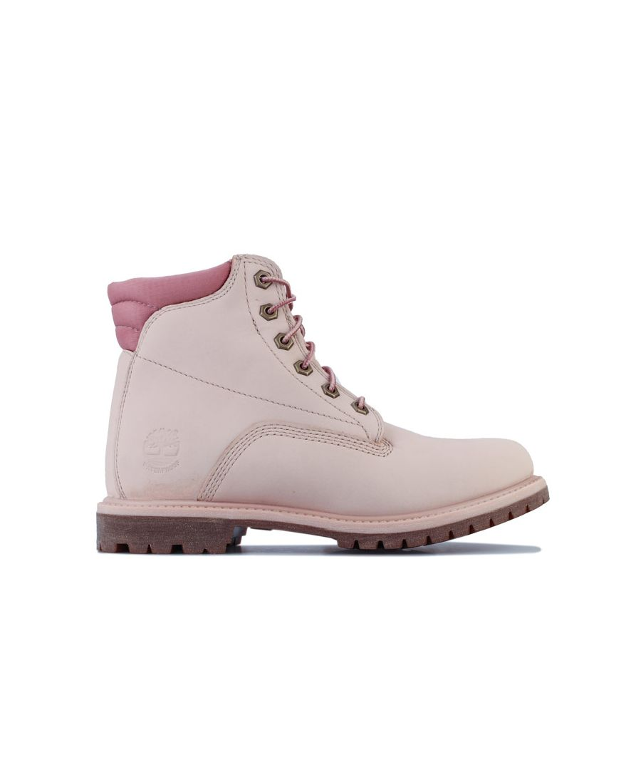 Image for Women's Timberland Waterville 6 Inch Basic WP Boots in Rose