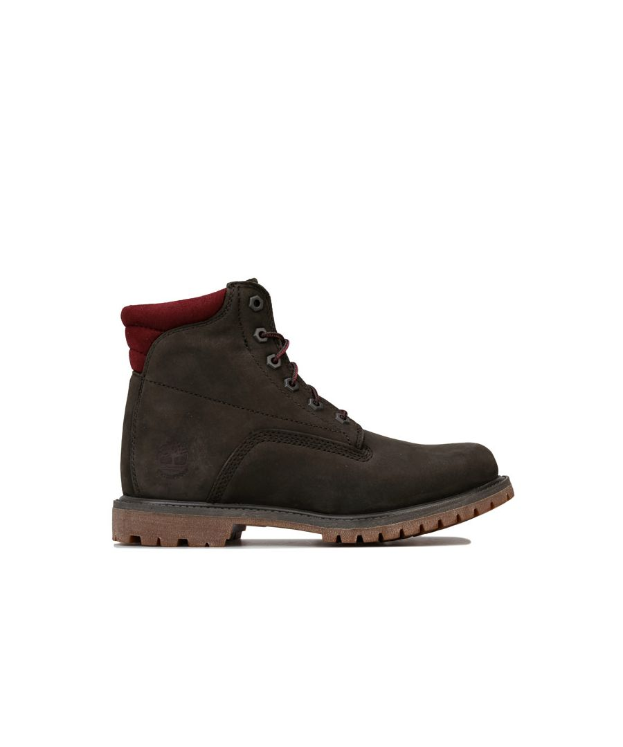 Image for Women's Timberland Waterville 6 Inch Boots in Dark Brown