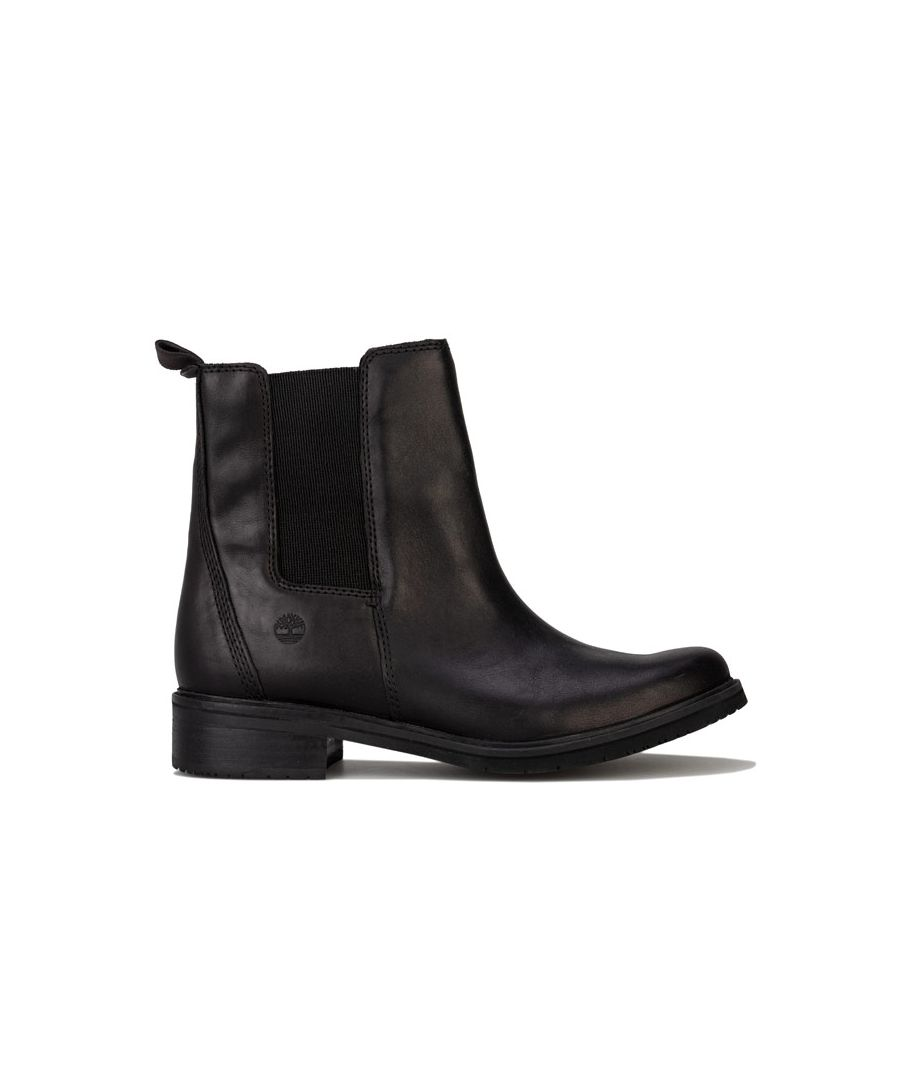 Image for Women's Timberland Mont Chevalier Chelsea Boots in Black