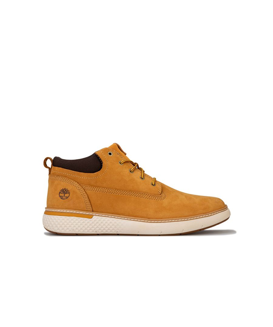 Image for Men's Timberland Cross Mark PT Chukka Boots in Wheat