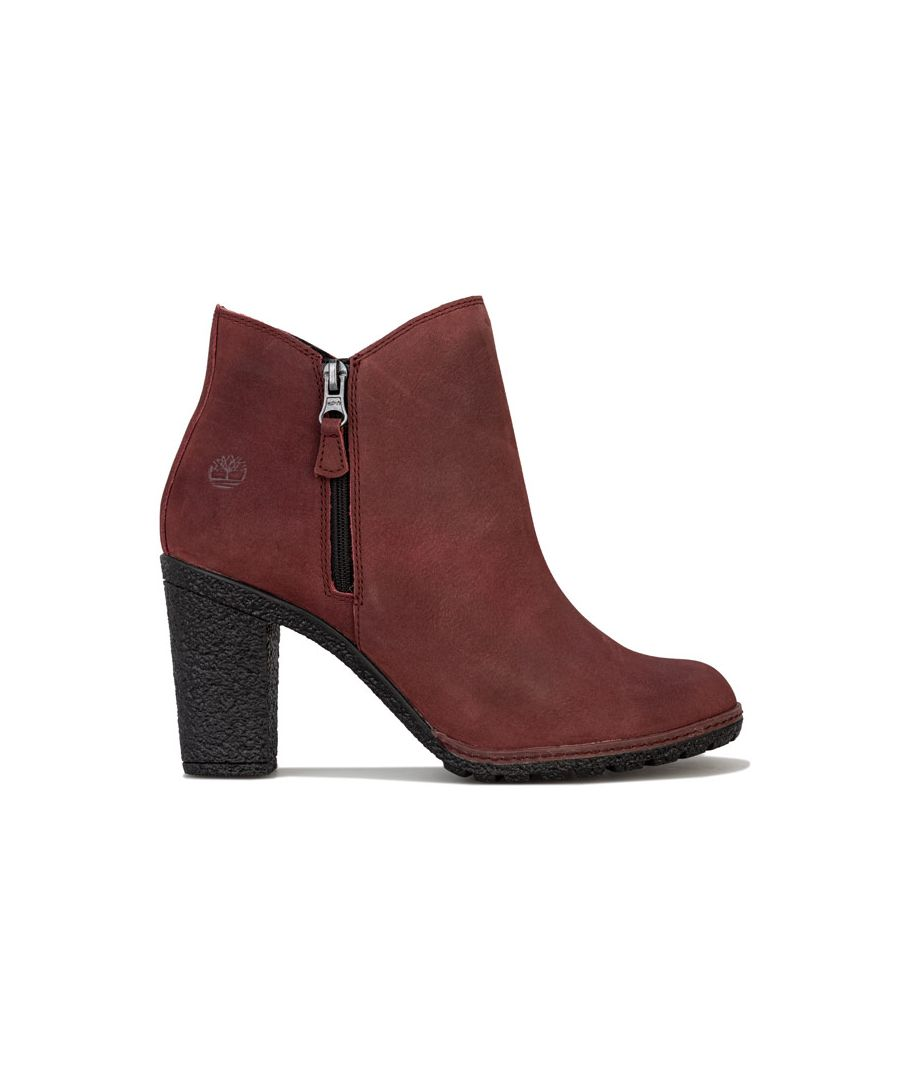 Image for Women's Timberland Tillston Zip Ankle Boots in Chocolate