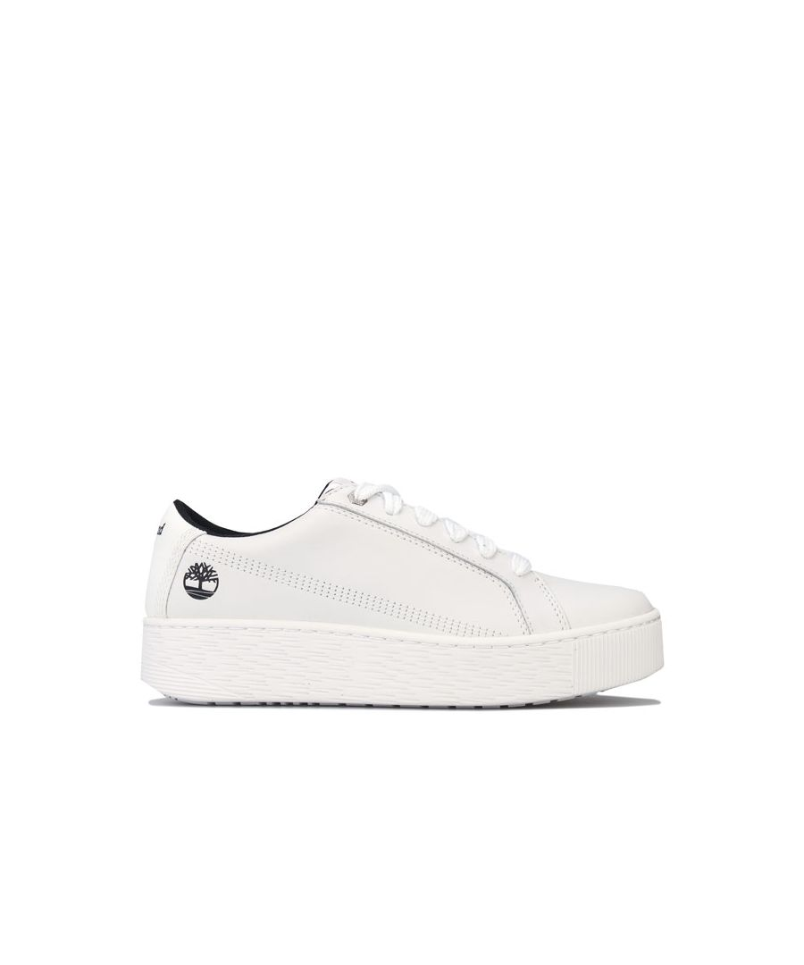 Image for Women's Timberland Marblesea Leather Trainers in White
