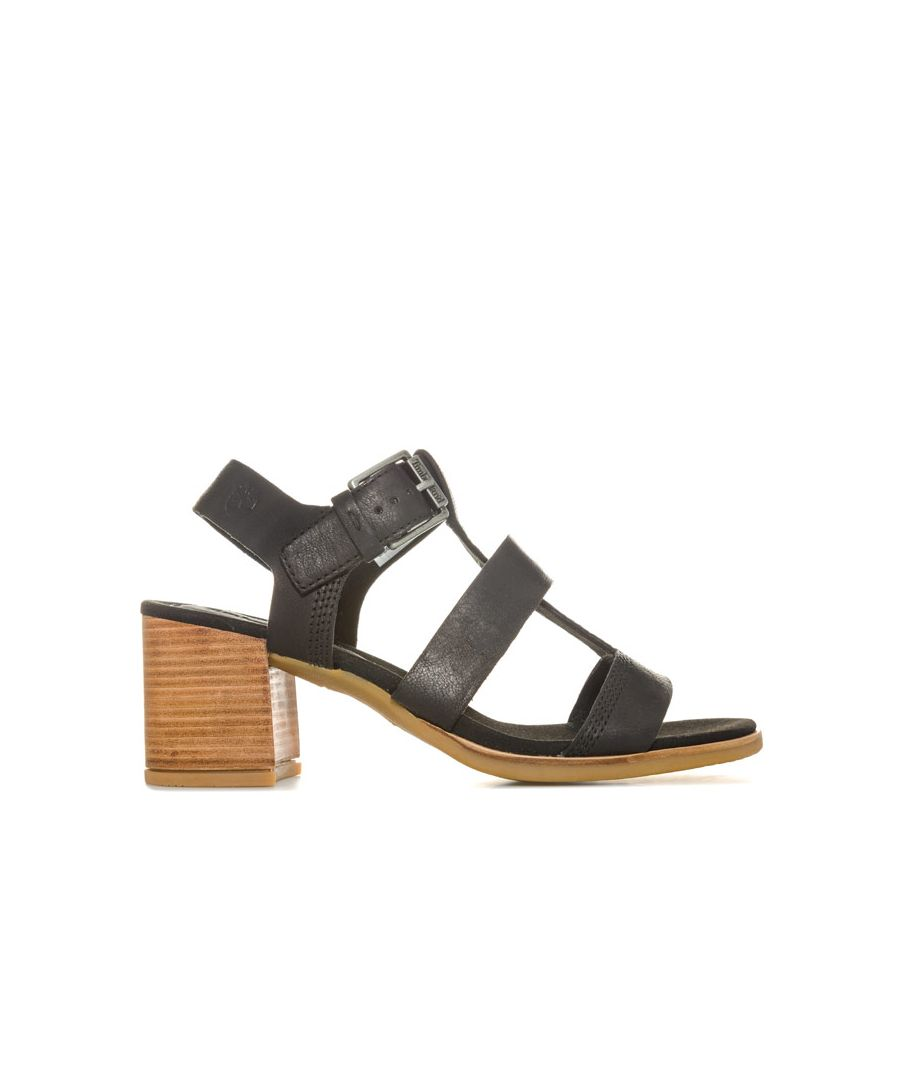 Image for Women's Timberland Tallulah May T-Band Sandals in Black