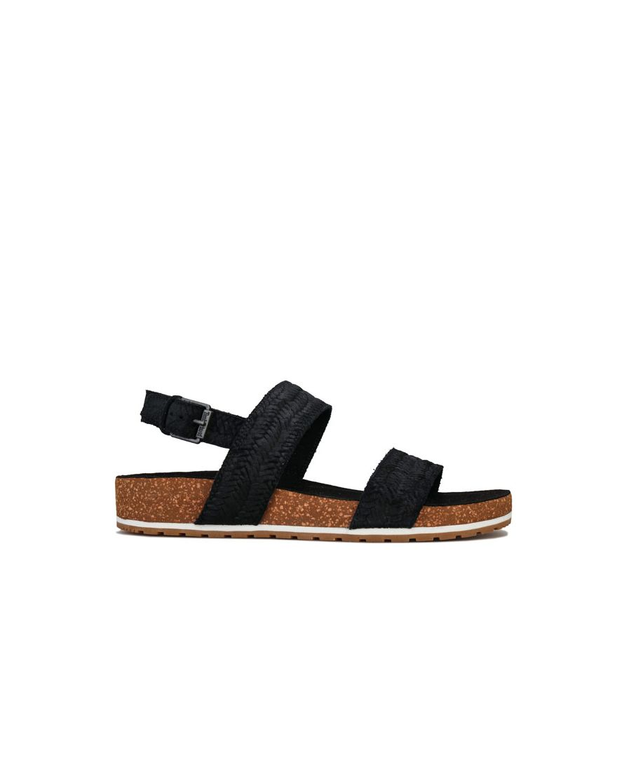 Image for Women's Timberland Malibu Waves Two Strap Sandals in Black