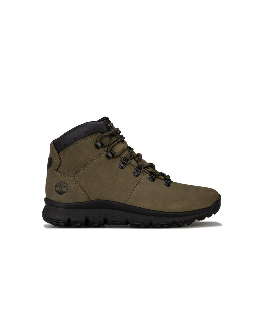 Image for Men's Timberland World Hiker Mid Boots in Khaki