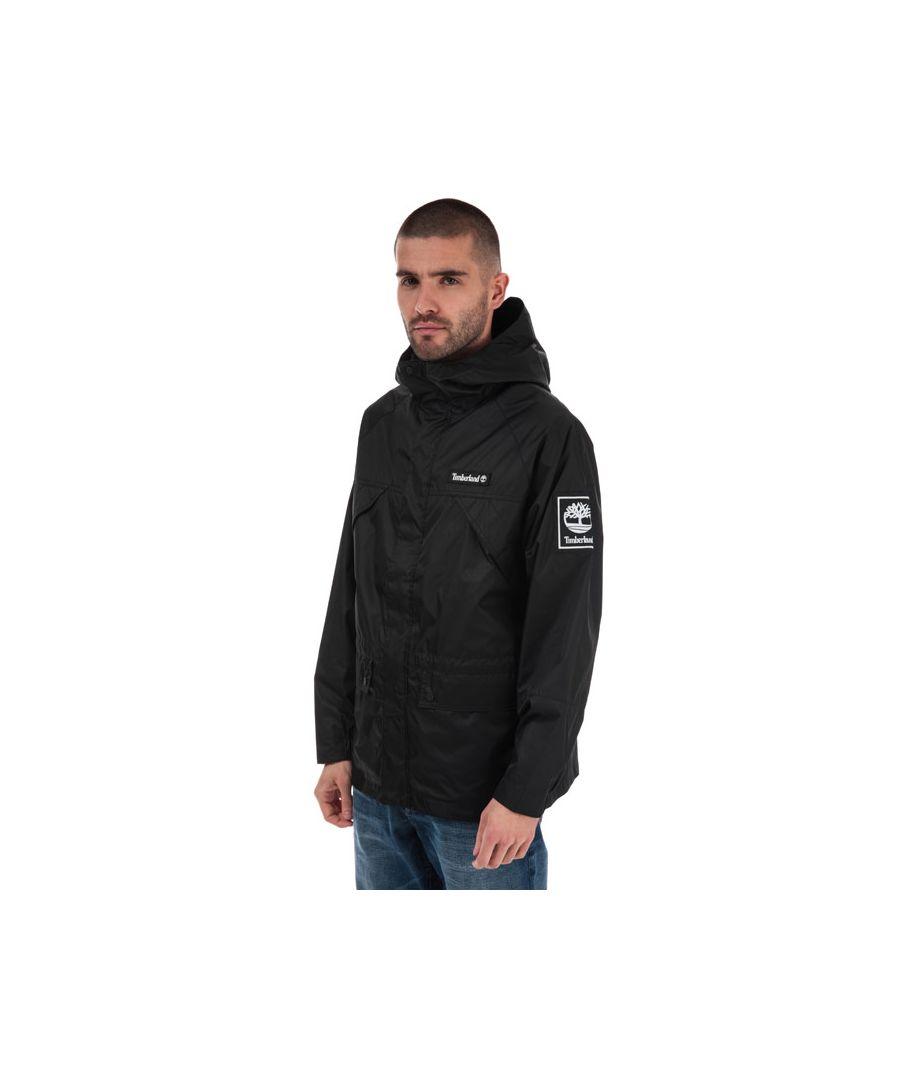 Image for Men's Timberland O-A Weatherbreaker Jacket in Black