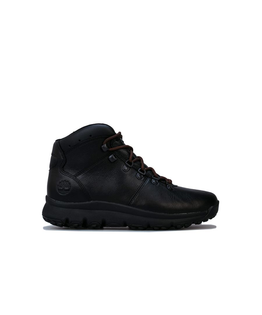 Image for Men's Timberland World Hiker Mid Boot in Black