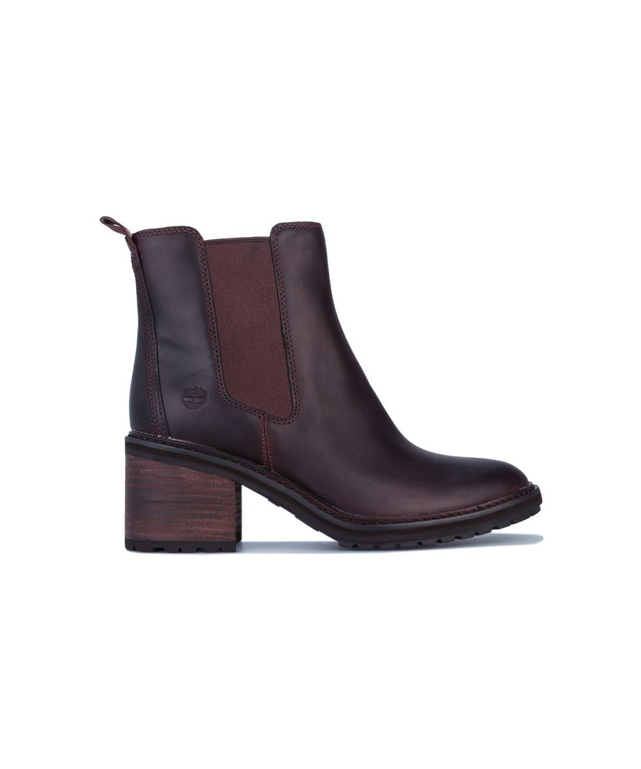 Image for Women's Timberland Sienna High Chelsea Boots in Chestnut