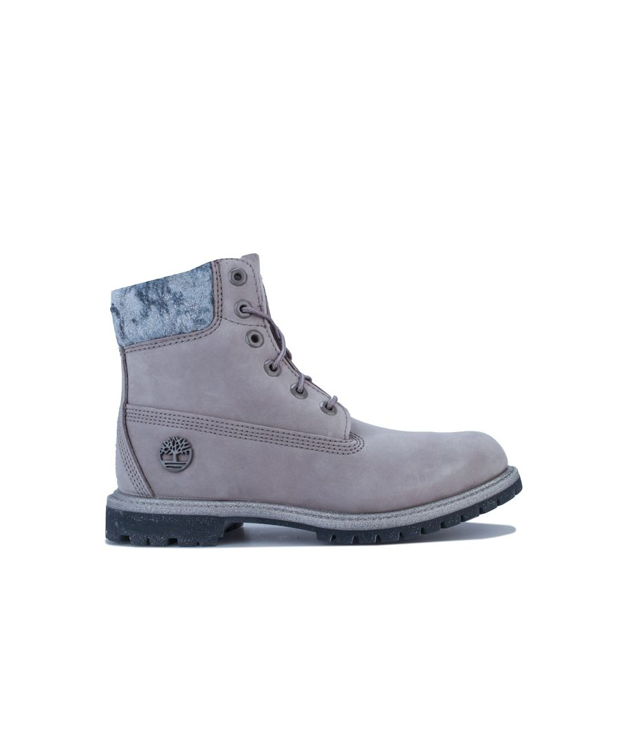 Image for Women's Timberland 6 Inch Premium Waterproof Boots in Grey
