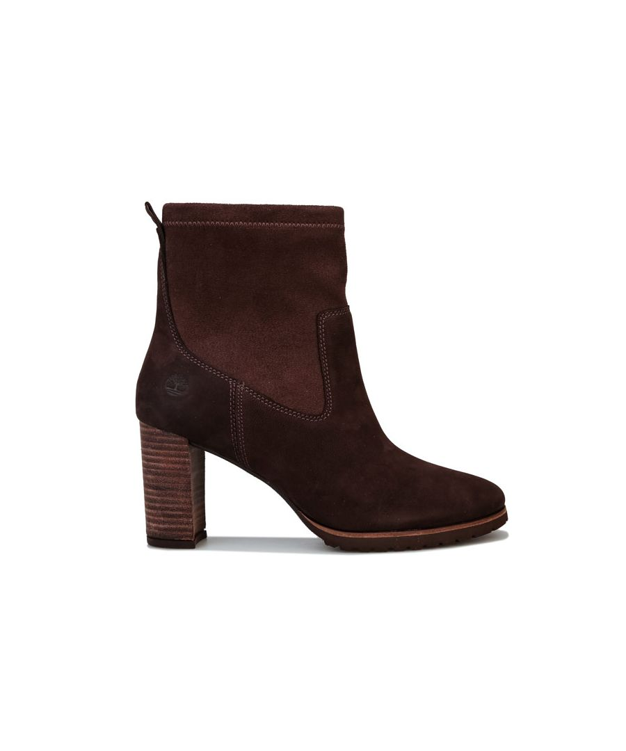 Image for Women's Timberland Leslie Anne Side Zip Boots in Dark Brown