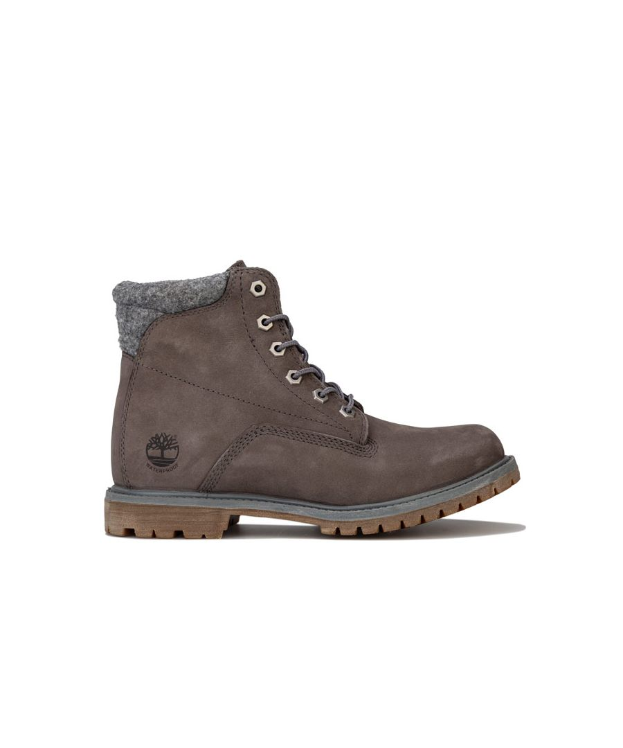 Image for Women's Timberland Waterville 6 Inch Boots in Grey