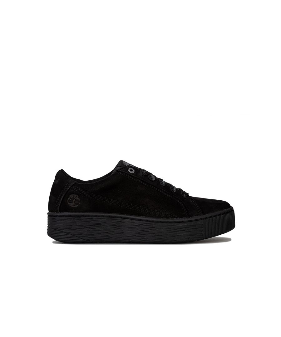Image for Women's Timberland Marblesa Leather Trainers in Black
