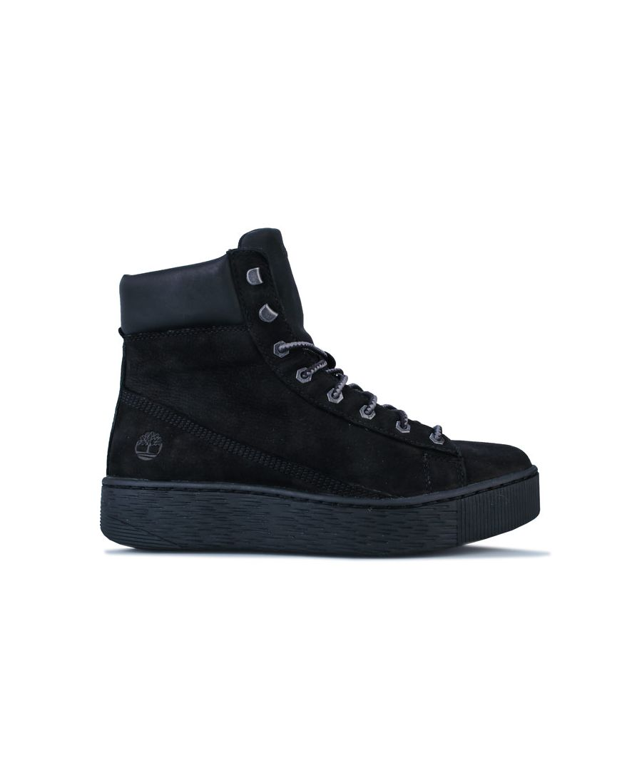 Image for Women's Timberland Marblesea Hightop Trainers in Black
