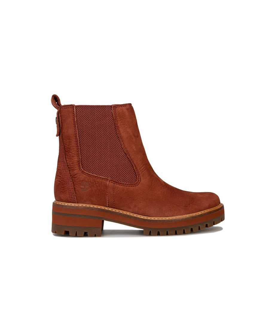 Image for Women's Timberland Courmayeur Valley Chelsea Boots in Brown