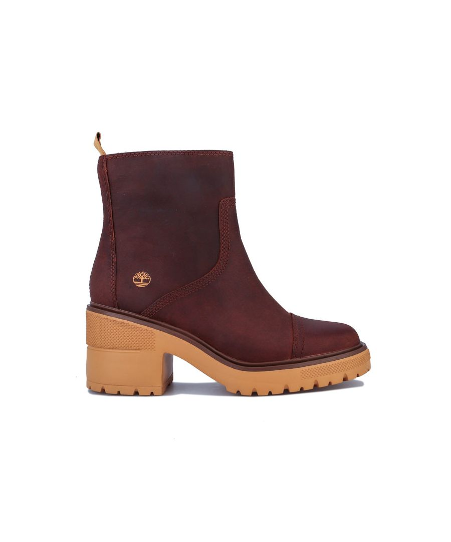 Image for Women's Timberland Silver Blossom Side Zip Ankle Boots in Brown