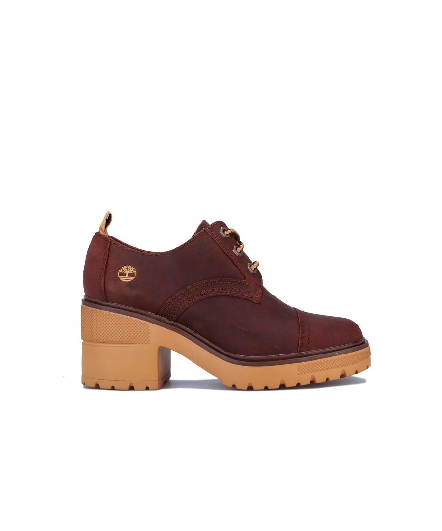 Image for Women's Timberland Silver Blossom Oxford Shoes in Brown