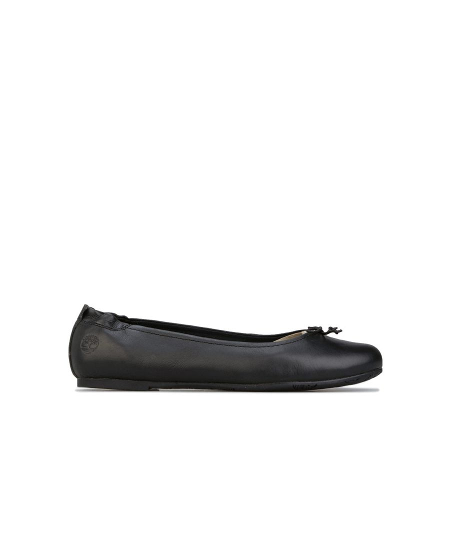 Image for Women's Timberland Millbury Ballerina Shoes Black UK 4.5in Black