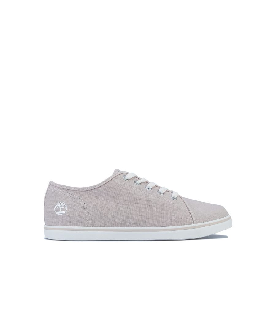 Image for Women's Timberland Dausette Oxford Canvas Pumps in Taupe