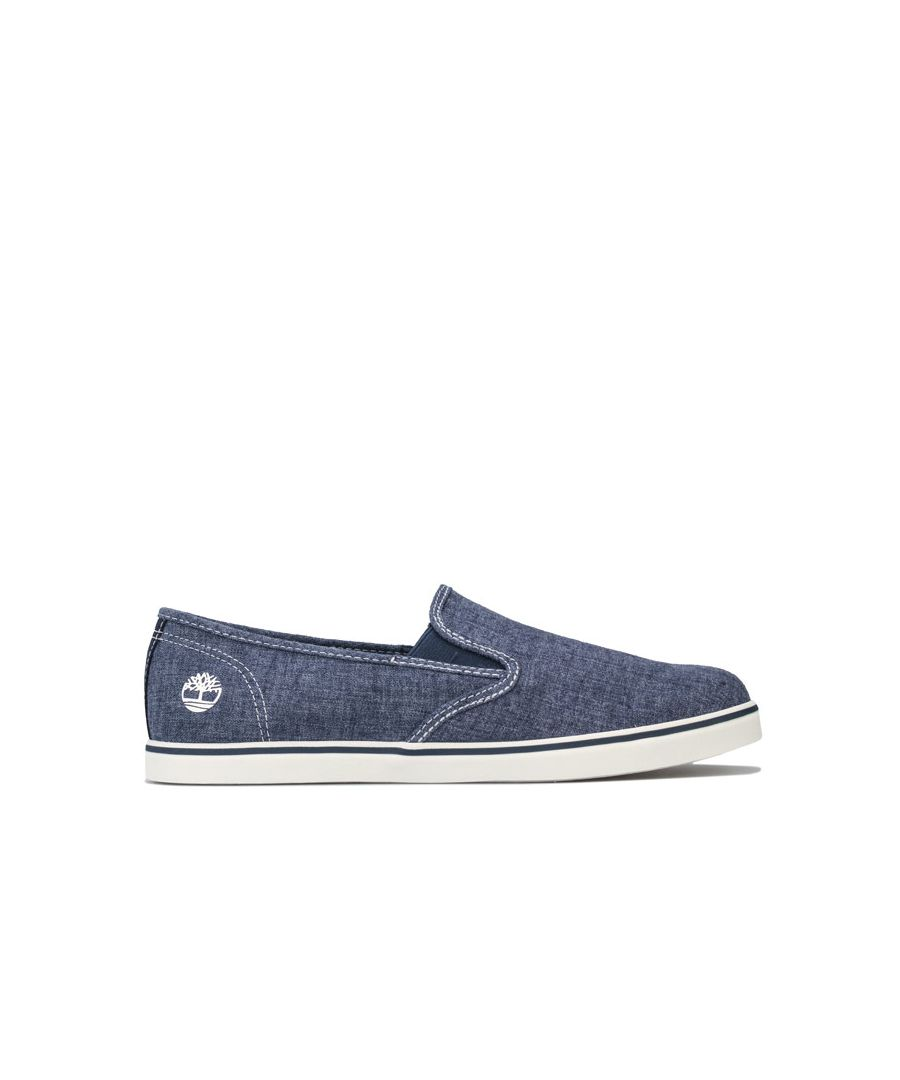 Image for Women's Timberland Dausette Slip-On Canvas Pumps in Indigo