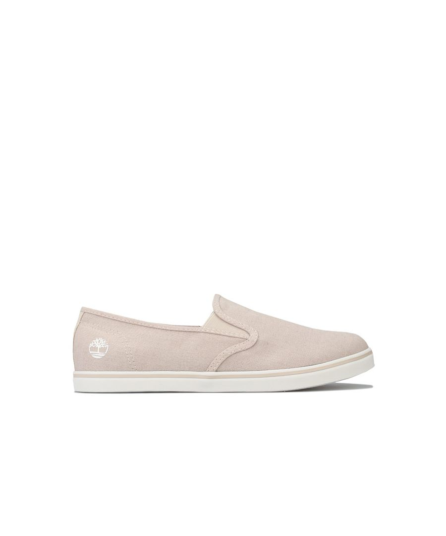 Image for Women's Timberland Dausette Slip-On Canvas Pumps in Taupe