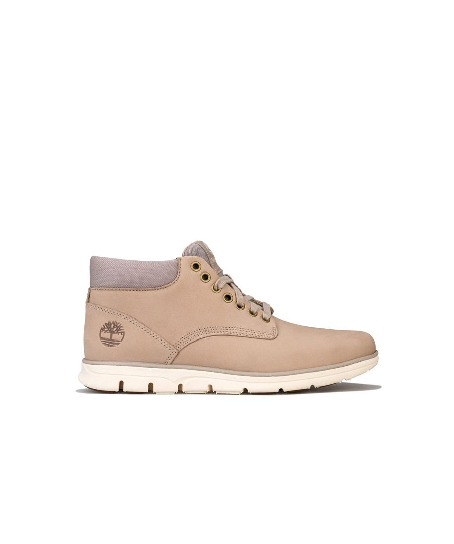 Image for Men's Timberland Bradstreet Chukka Leather Boots in Cream