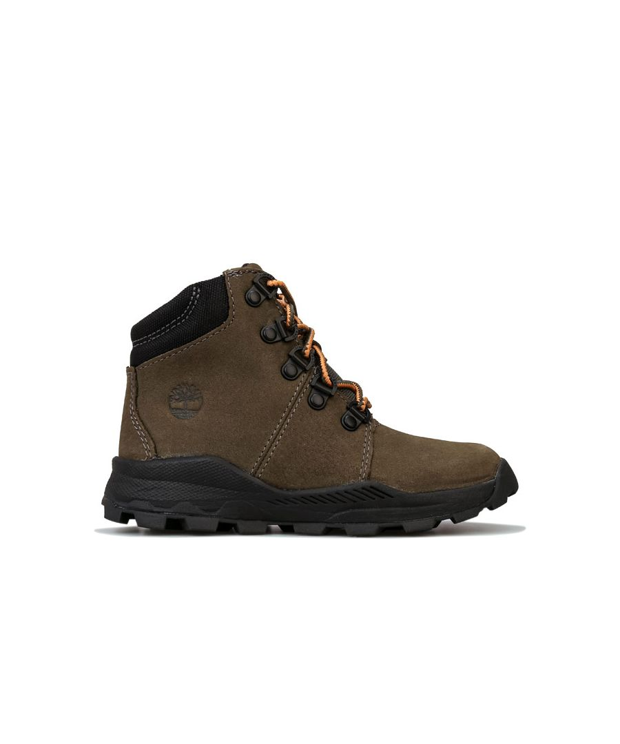 Image for Boy's Timberland Children Brooklyn Hiker Boots in Khaki