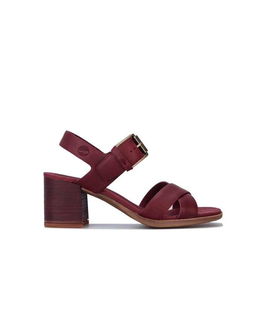 Image for Women's Timberland Tallulah May Cross Band Sandals in Chocolate