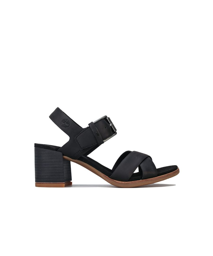 Image for Women's Timberland Tallulah May Cross Band Sandals in Black