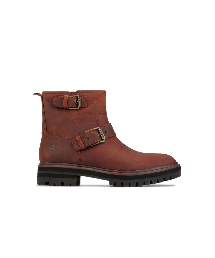 Image for Women's Timberland London Square Biker Boots in Brown