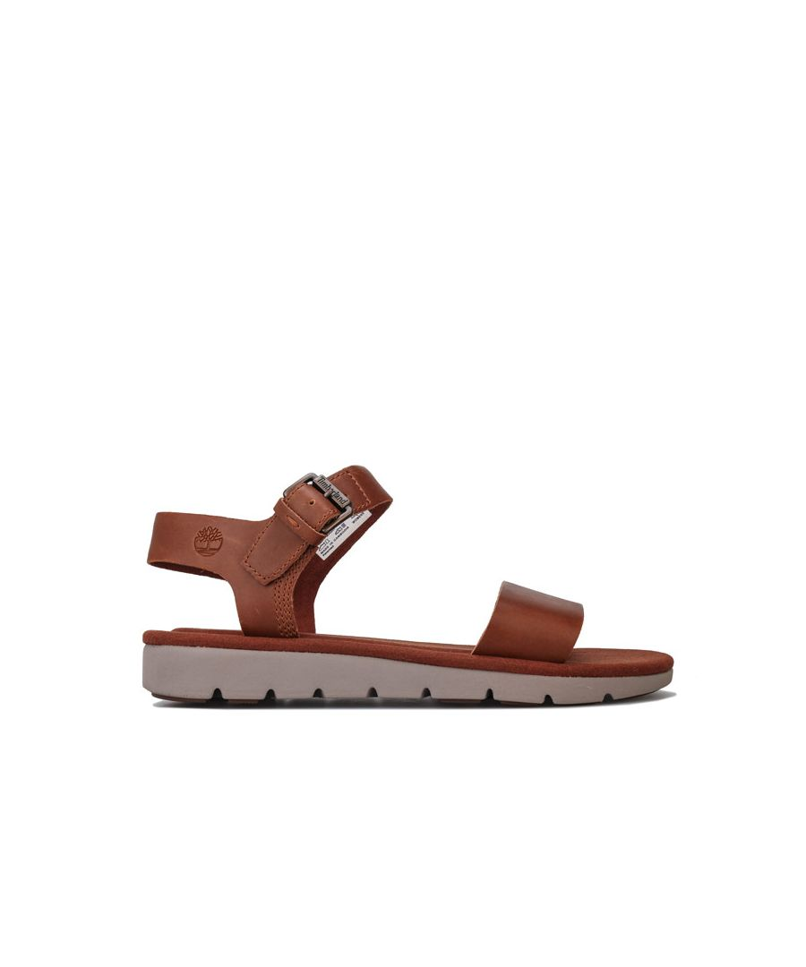 Image for Women's Timberland Lottie Lou 1-Band Sandals in Brown