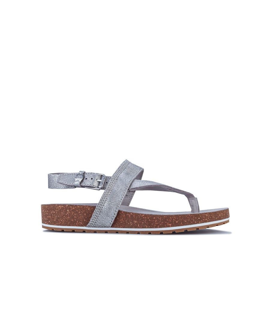 Image for Women's Timberland Malibu Waves Thong Sandals in Silver