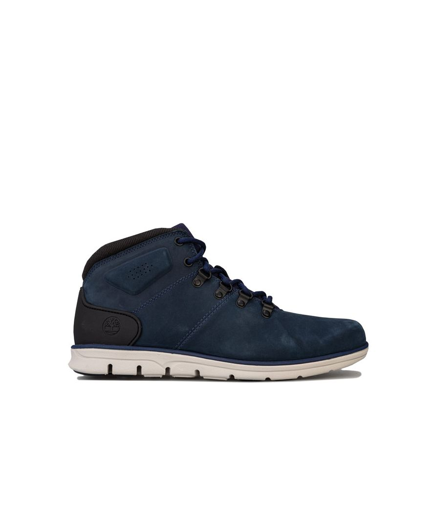 Image for Men's Timberland Bradstreet Hiker Boots in Navy