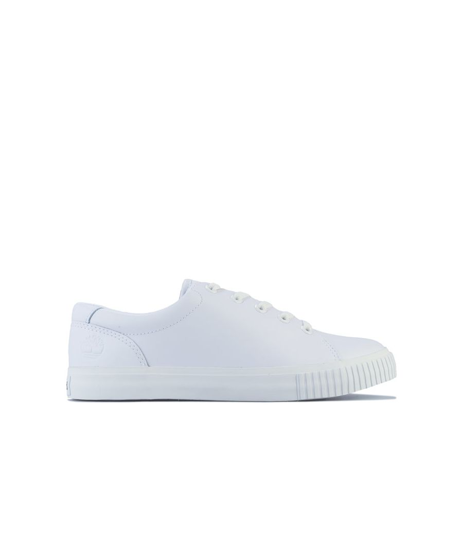 Image for Women's Timberland Skyla Bay Leather Oxford Trainers White UK 3.5in White