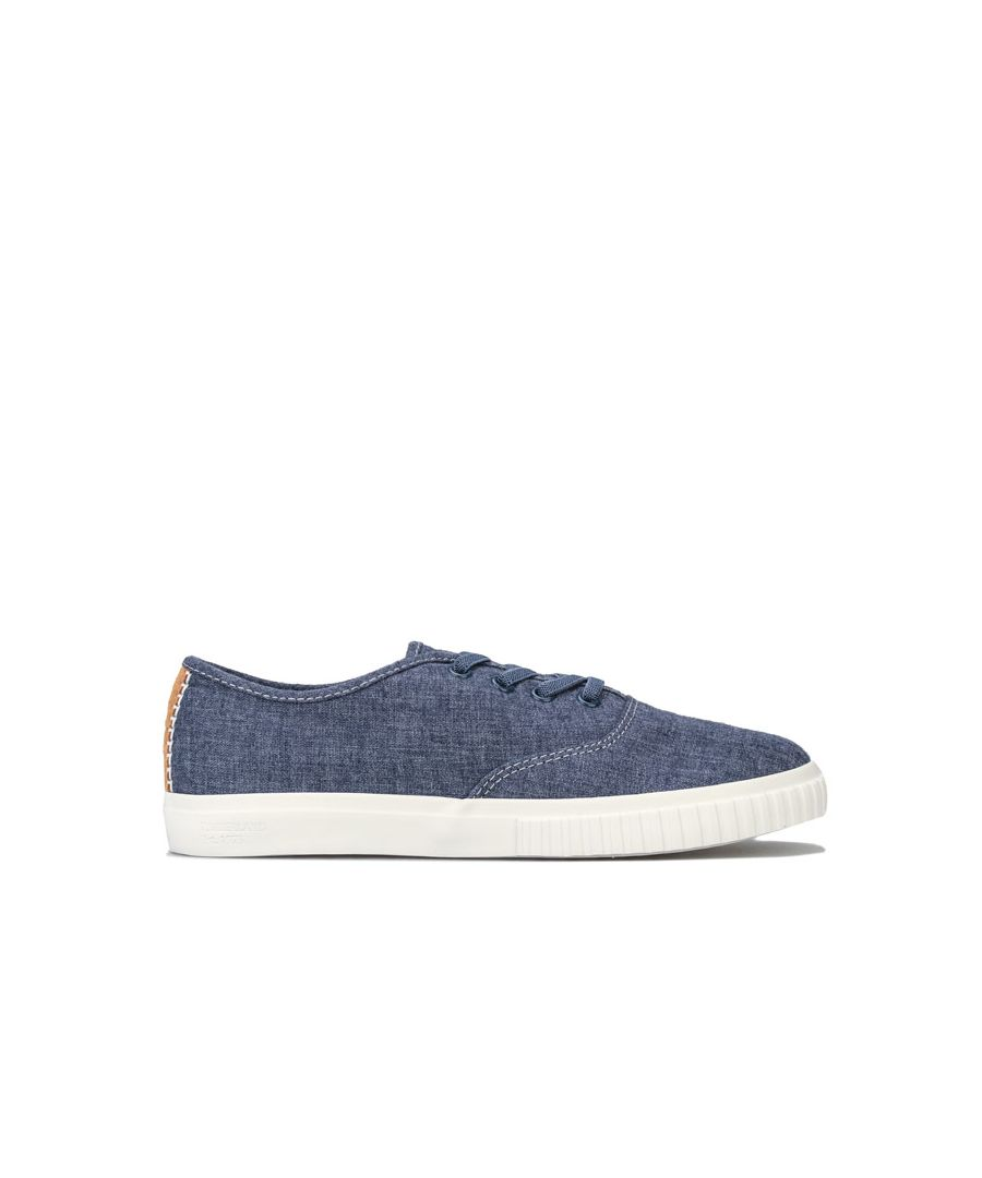 Image for Women's Timberland Newport Bay Bumper Toe Ox Trainers in Indigo