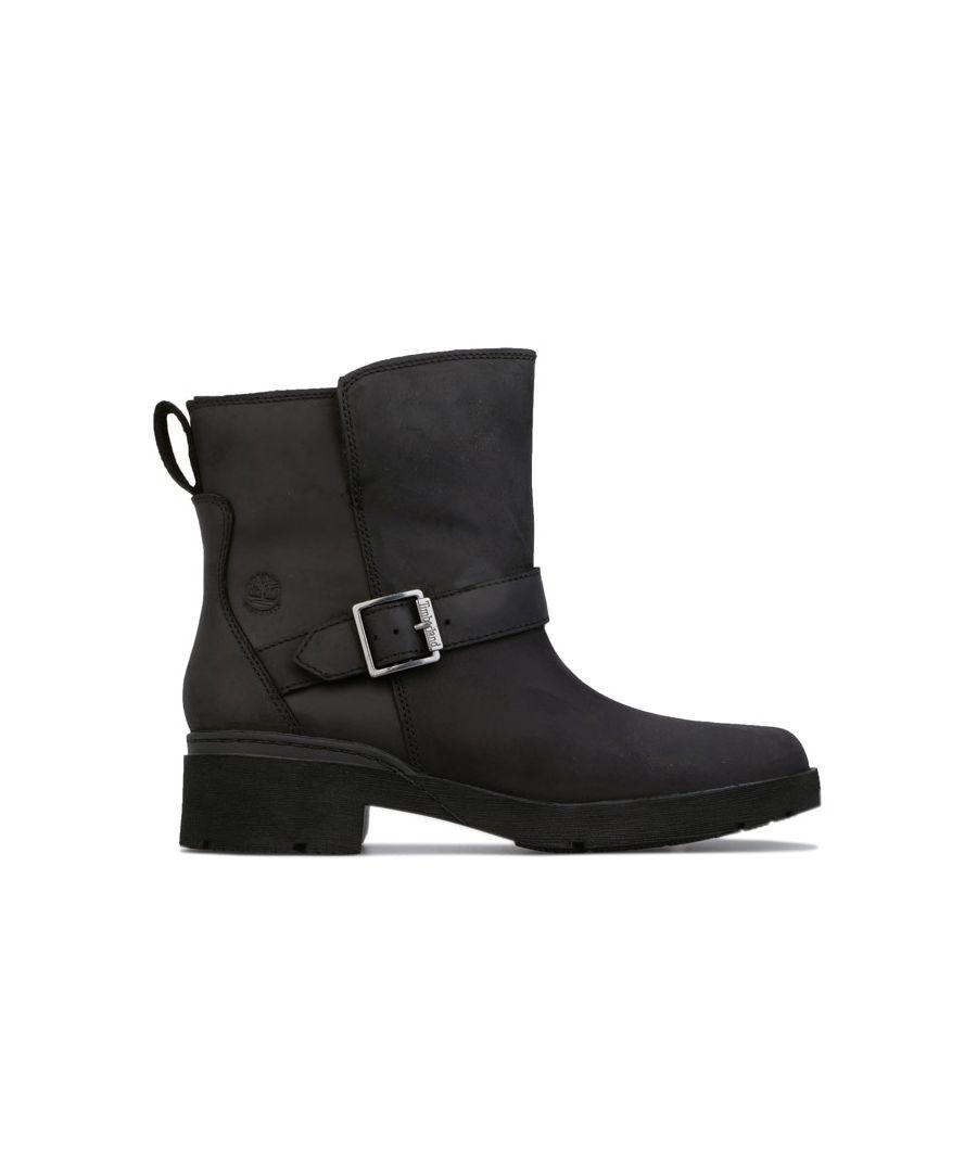 Image for Women's Timberland Graceyn Biker Waterproof Boots in Black