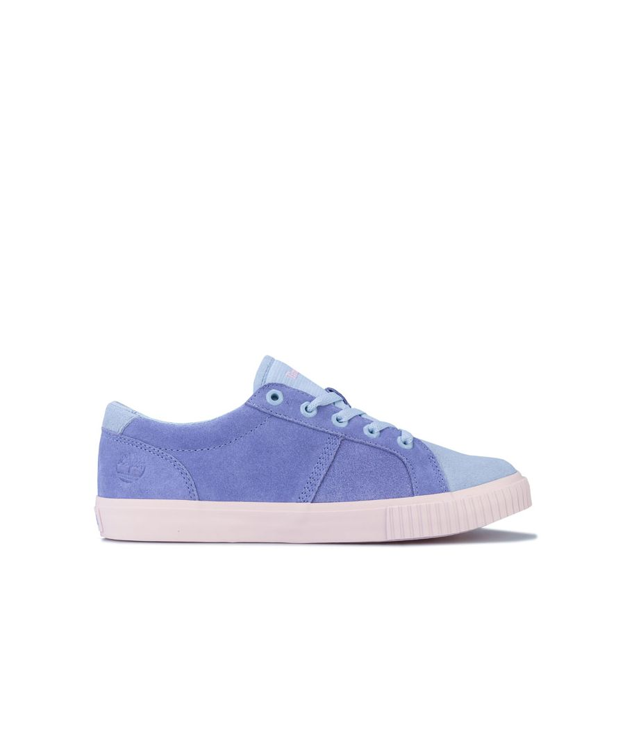 Image for Women's Timberland Skyla Bay Oxford Trainers Blue UK 3.5in Blue