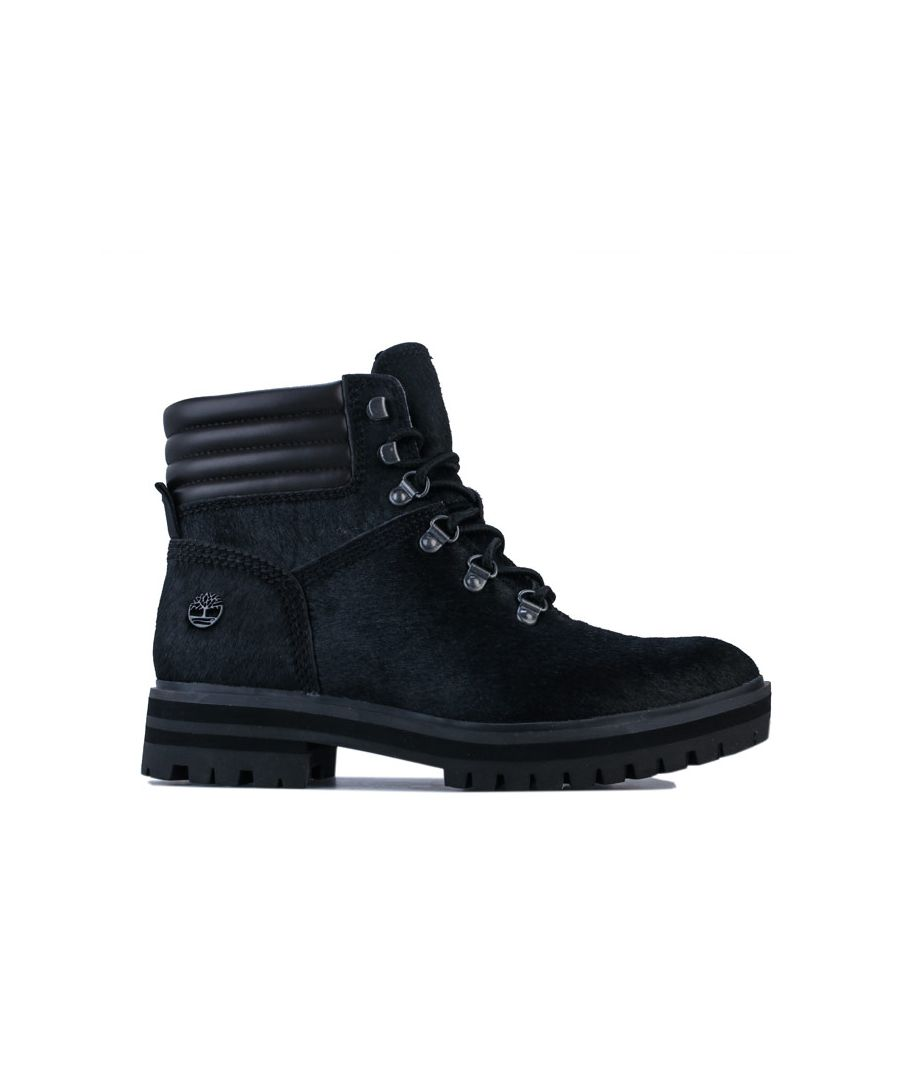 Image for Women's Timberland London Square Mid Hiker Boots Black UK 3.5in Black