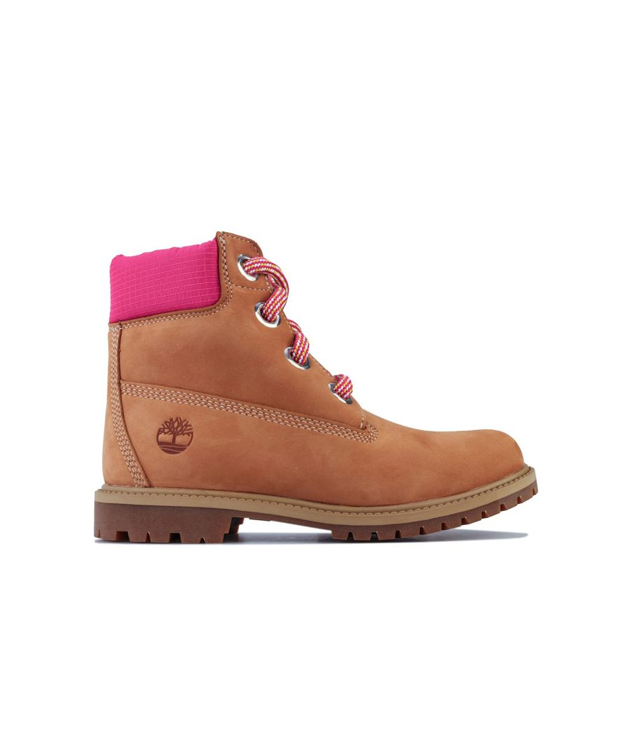 Image for Women's Timberland 6 Inch Convenience Lace Boots in Wheat