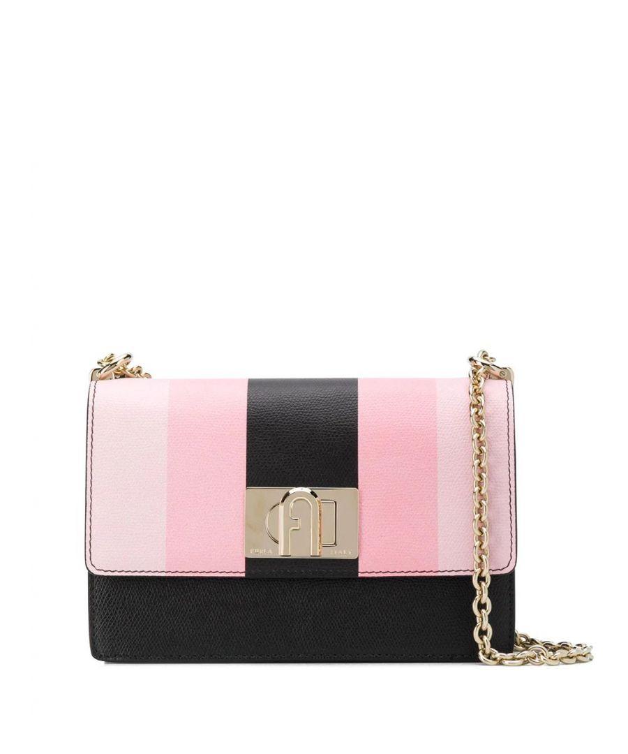 Image for FURLA WOMEN'S 1056902 PINK LEATHER SHOULDER BAG