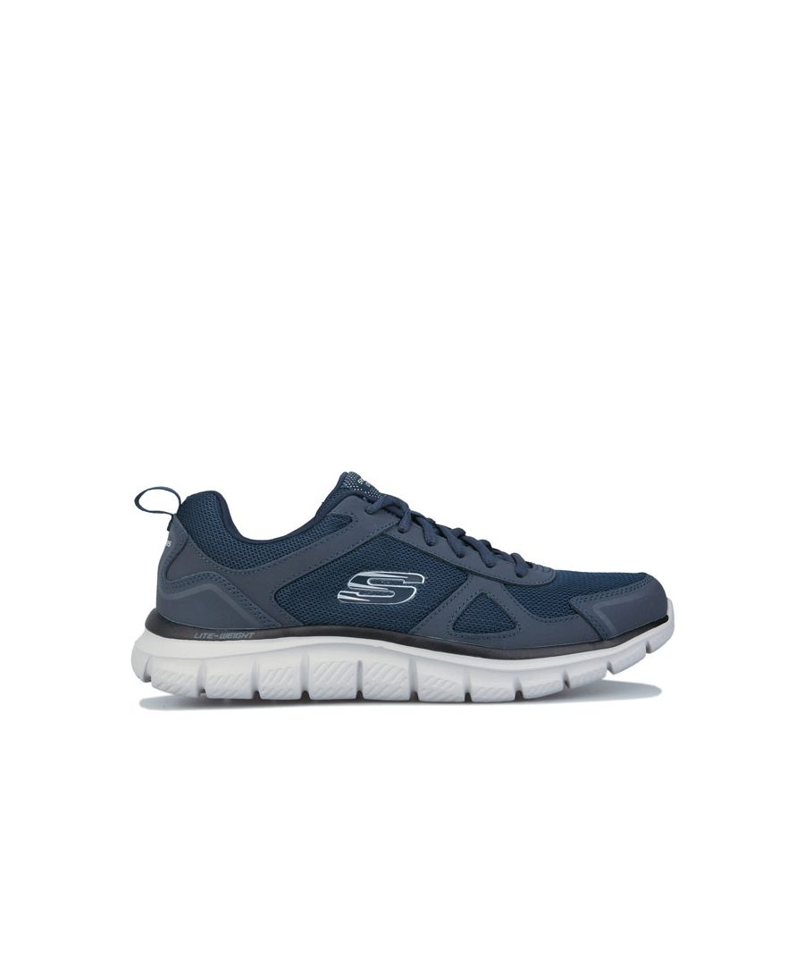 Image for Men's Skechers Track Scloric Trainers In Navy