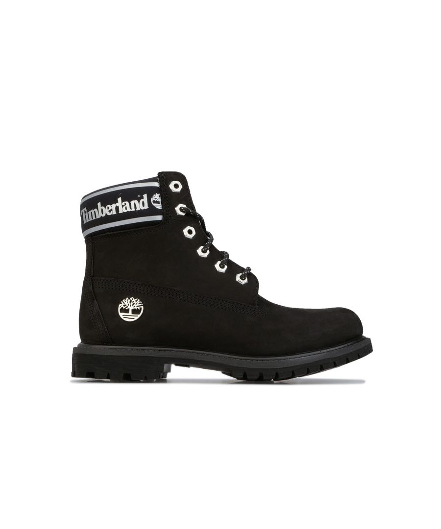 Image for Women's Timberland 6 Inch Premium Waterproof Boots Black UK 3.5in Black